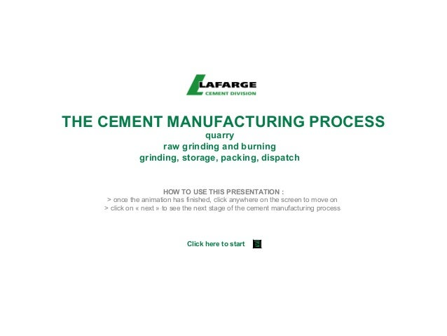 Ultratech Cement Cement Manufacturing Process : Cement manufacturing process uk