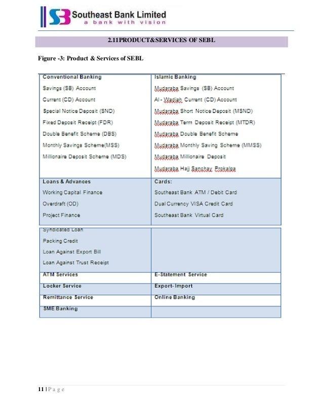 Internship report on sebl