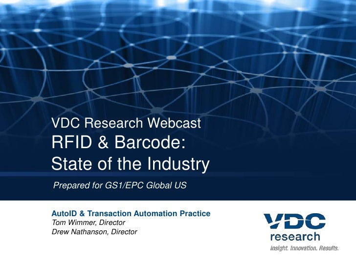 RFID & Barcode: State of the Industry