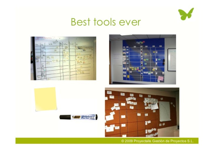 Best tools ever               © 2009 Proyectalis Gestión de Proyectos S.L.
