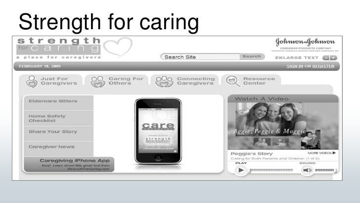 Strength for caring<br />