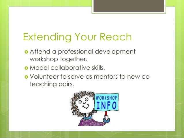 Collaborative Co Teaching Model ~ Teaming in co teaching