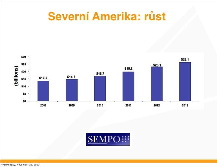 Severní Amerika: růst     Wednesday, November 25, 2009