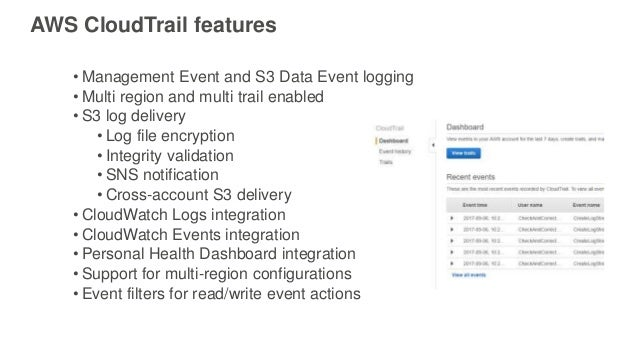 Using CloudTrail to Enhance Compliance and Governance of S3 - AWS Onl…