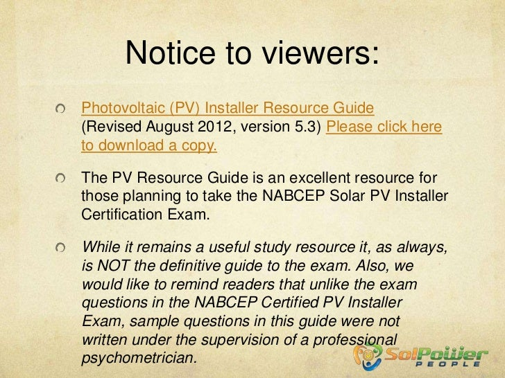 formulas review part 2 edited 9 20 12 rh slideshare net Solar Panels Photovoltaic Systems Photovoltaic Cells