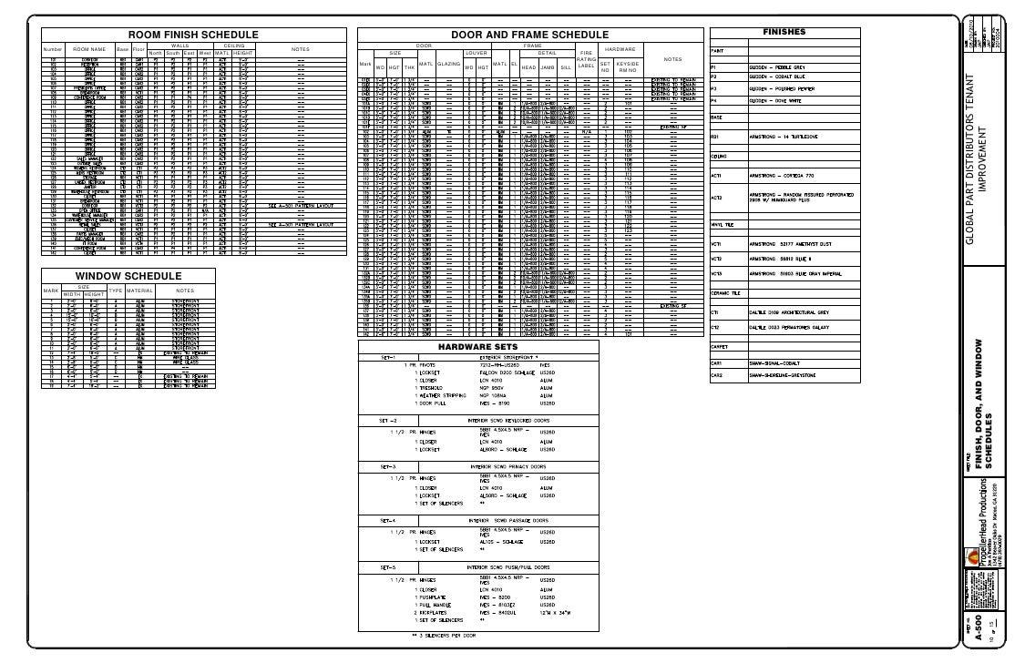 window schedule template - Vatoz.atozdevelopment.co