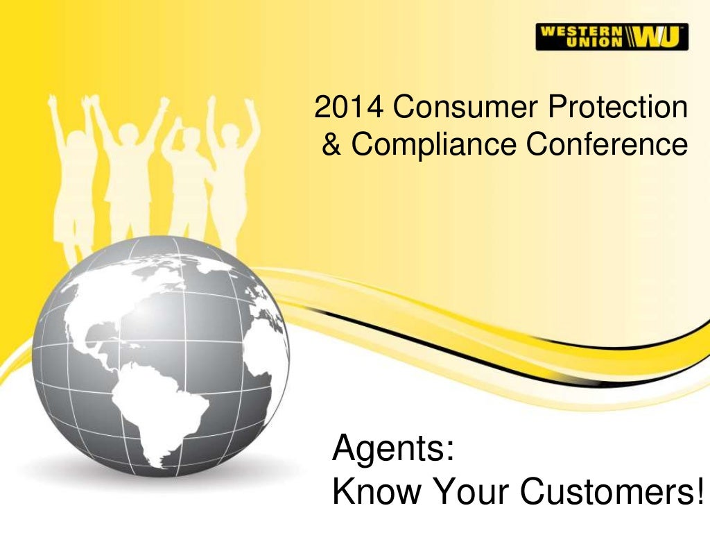 Money Transfer Agents: Know Your Customers!
