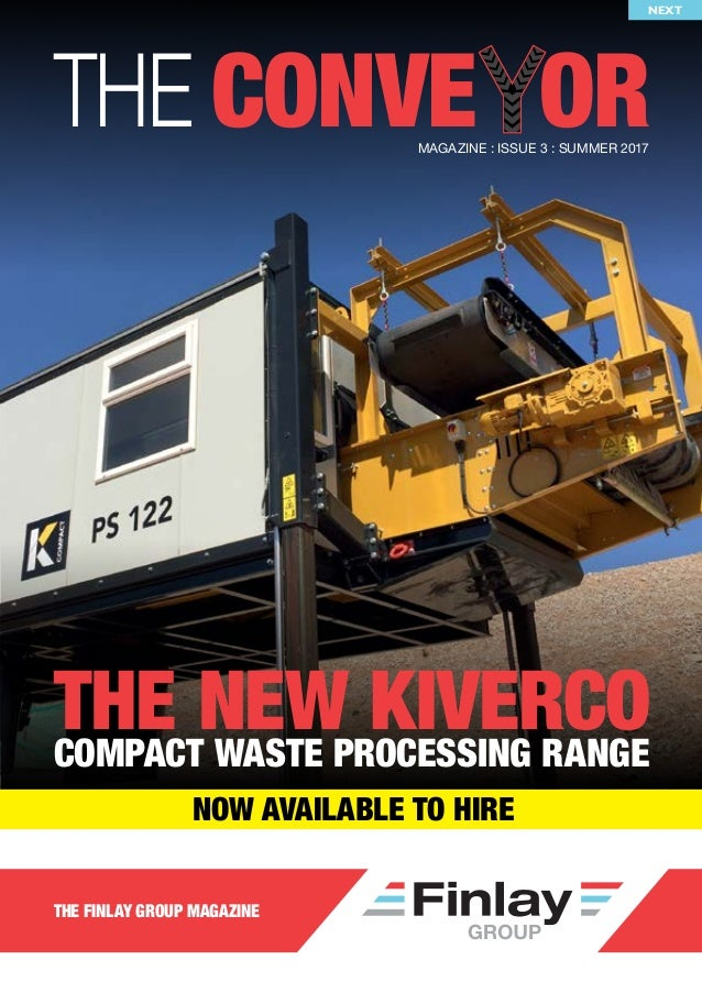 finlay group conveyor magazine issue 3 rh slideshare net Finlay WCW Finlay Macmillan