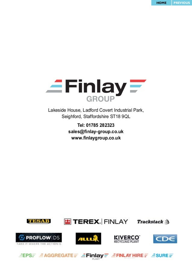 finlay group conveyor magazine issue 3 rh slideshare net Fit Finlay Finlay Park