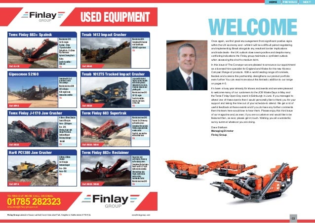 finlay group conveyor magazine issue 3 rh slideshare net WWE Finlay Finlay's Shipping
