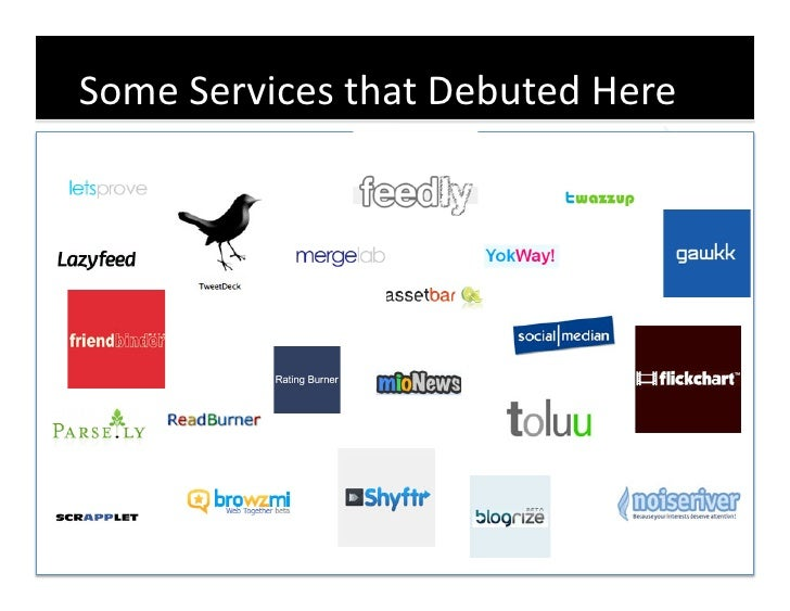Some  Services  that  Debuted  Here       14
