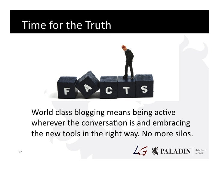 Time  for  the  Truth                    World  class  blogging  means  being  acCve               ...