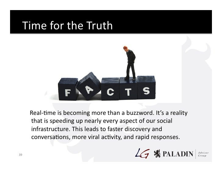 Time  for  the  Truth                  Real-‐Cme  is  becoming  more  than  a  buzzword.  It's  ...