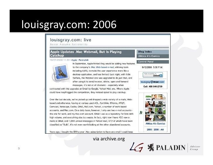 louisgray.com:  2006                                  via  archive.org   9