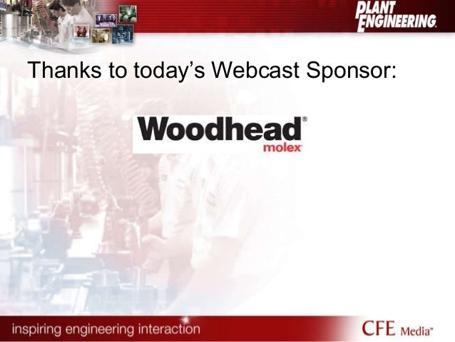 Thanks to today's Webcast Sponsor: