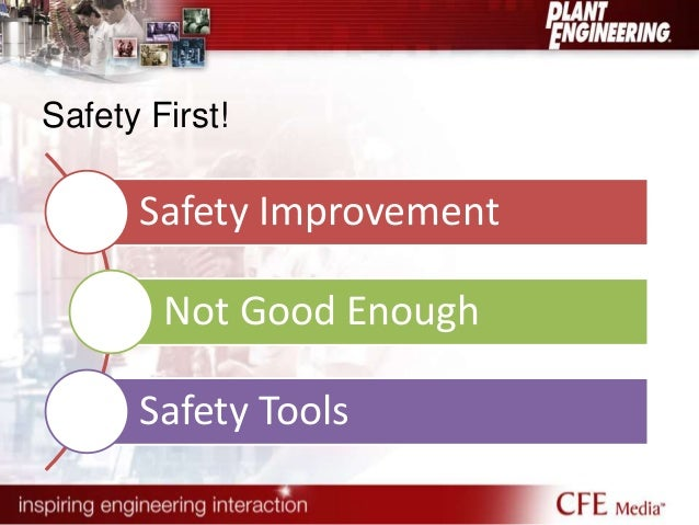 Safety First!  Safety Improvement  Not Good Enough  Safety Tools