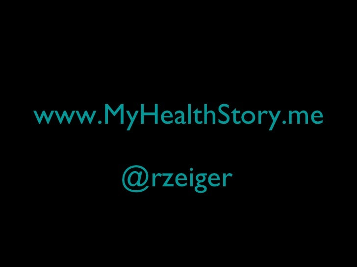 ePatCon11: Zeiger - Story and Health