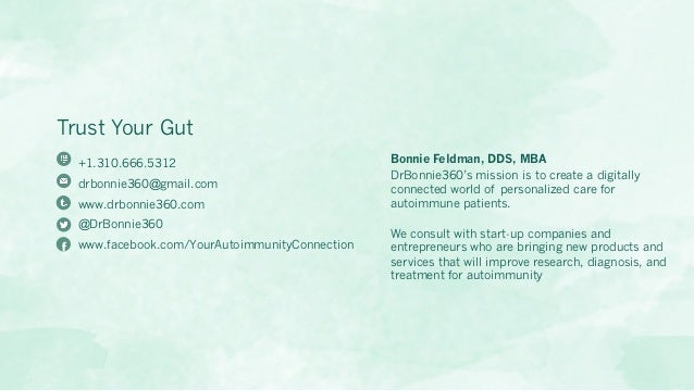 Trust Your Gut: Data and Digital Tools for the Microbiome - An Emerging Field in Autoimmune Disease Slide 2