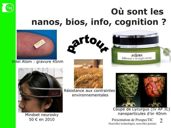 Où sont les  nanos, bios, info, cognition ? partout Coupe de Lycurgus (IV AP JC) nanoparticules d'or 40nm Intel Atom : gra...