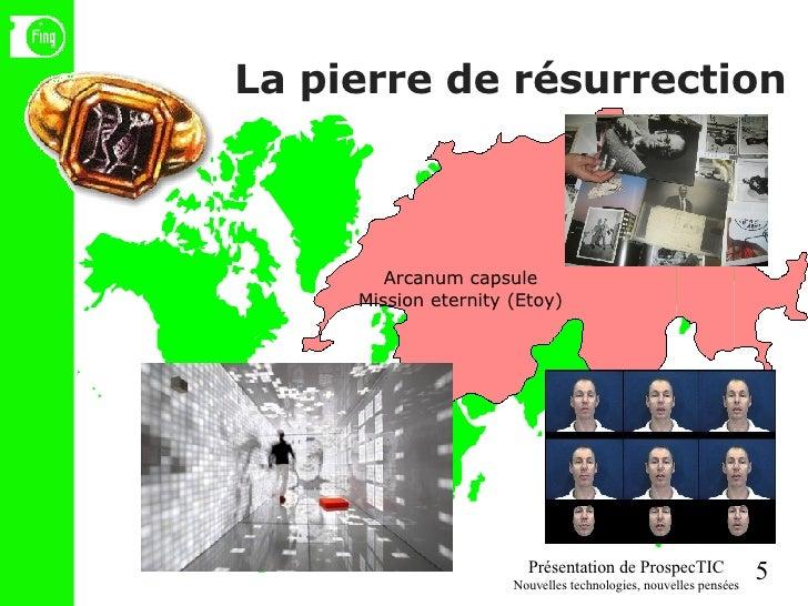 La pierre de résurrection Arcanum capsule Mission eternity (Etoy)