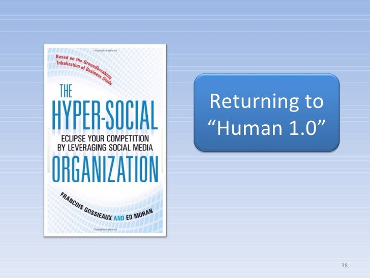 """Returning to """" Human 1.0"""""""