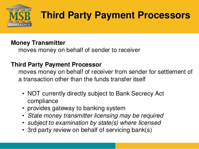 how to become a third party payment processor