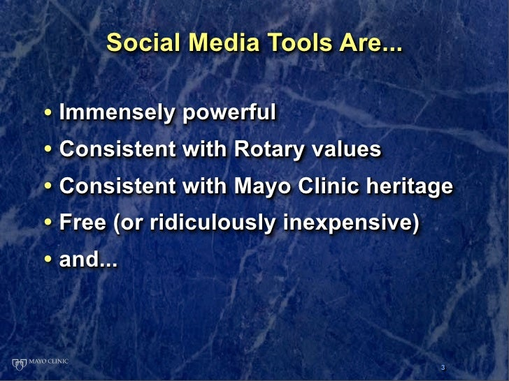 Social Media 101: A Taste of the Tools that are Changing the World Slide 3