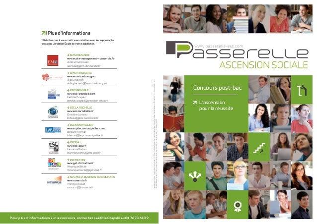 Concours post-bac L'ascension pour la réussite EM Normandie www.ecole-management-normandie.fr Aurélien Le Rouxel alerouxel...