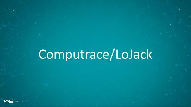 Computrace/LoJack