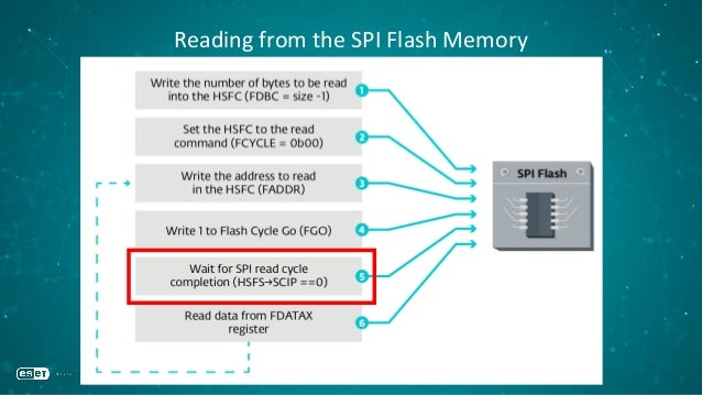 Reading from the SPI Flash Memory