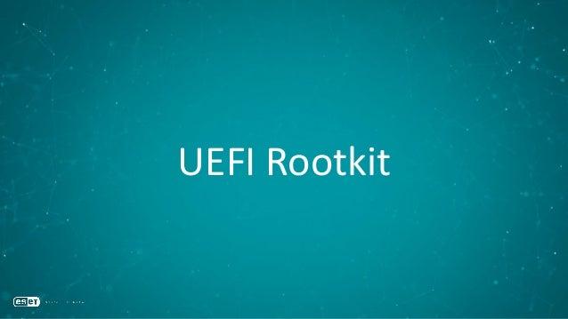 UEFI Rootkit workflow