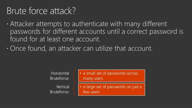 Compromised account + Non DJ machine + Mimikatz can bring troubles to the AD AATP provides visibility to the attack target...