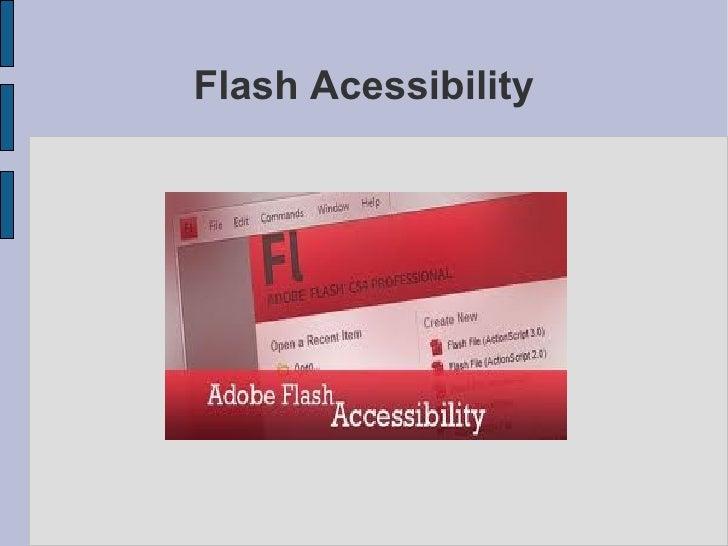 Flash Acessibility
