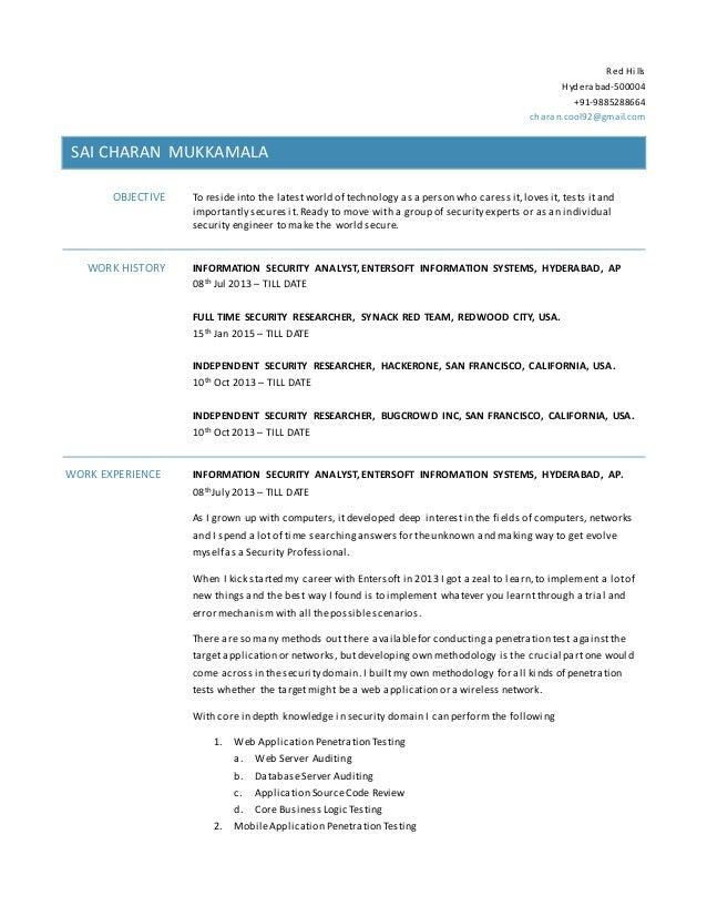 Nice SlideShare  Web Testing Resume
