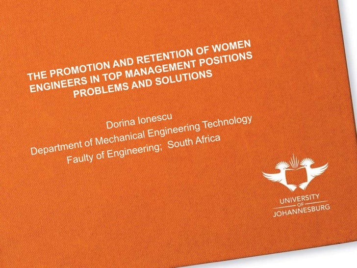 WOMEN IN ENGINEERINGThe present study is divided in three maincomponents:1. Statistics pertaining to female students   pur...