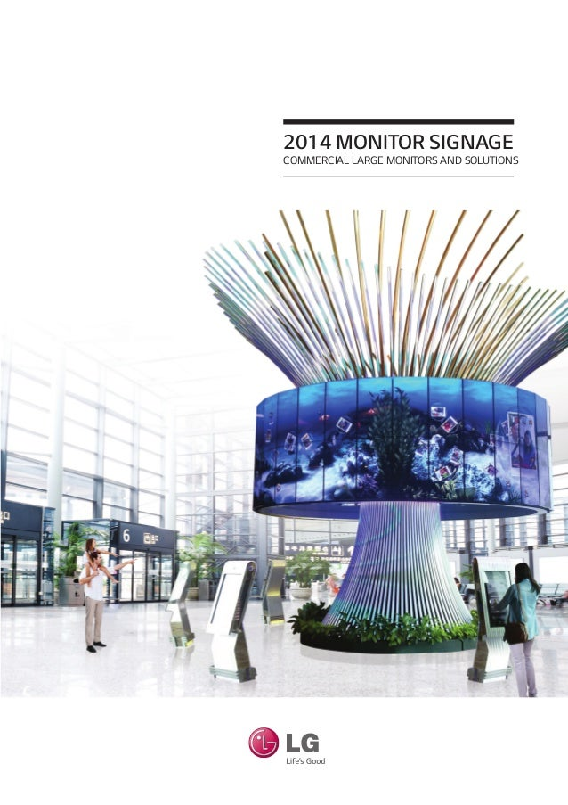 2014 LG Monitor Signage - Commercial Large Monitors And