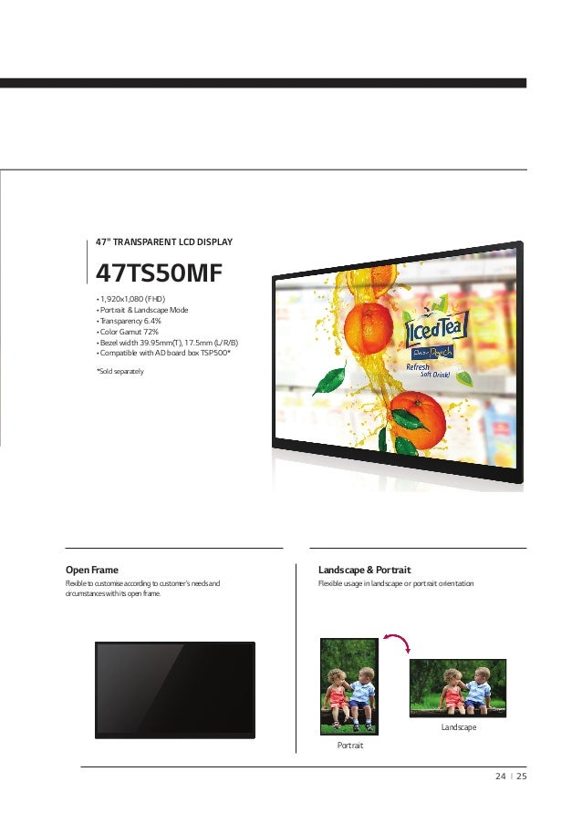 2014 LG Monitor Signage - Commercial Large Monitors And Solutions