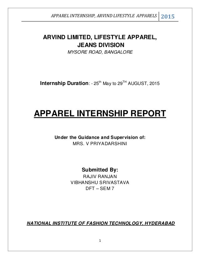 arvind lifestyle brands internship The brand is currently owned in india by iconix lifestyle and is under license in partnership with arvind lifestyle brands alok dubey, ceo of lifestyle brands, arvind lifestyle brands, stated that the brand has made a strong enough comeback in the market to warrant expansion.