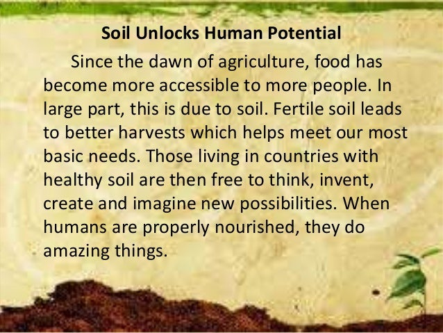 Soil Unlocks Human Potential Since the dawn of agriculture, food has become more accessible to more people. In large part,...