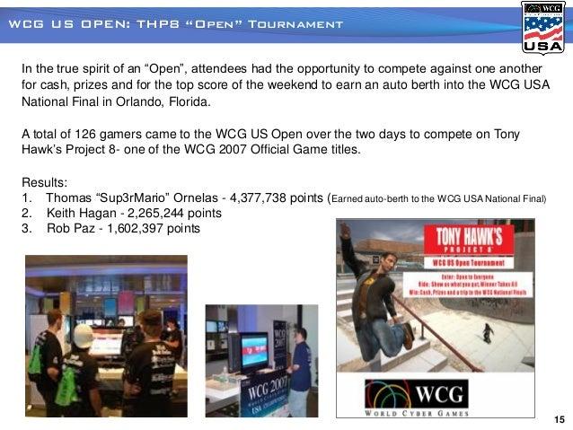 WCG USA 2007 Master Recap