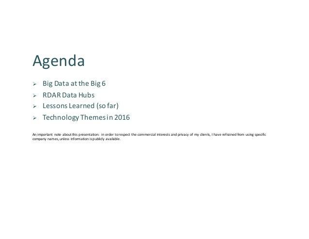 TechConnex Big Data Series - Big Data in Banking Slide 2
