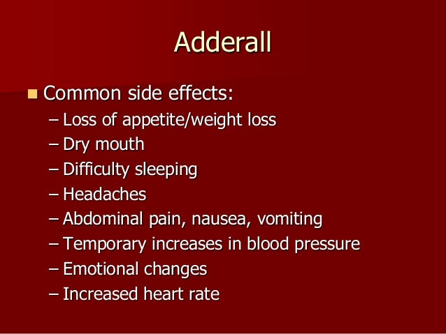 adderall weight loss in two weeks