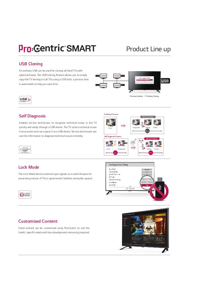 2014 LG Commercial TV Catalogue