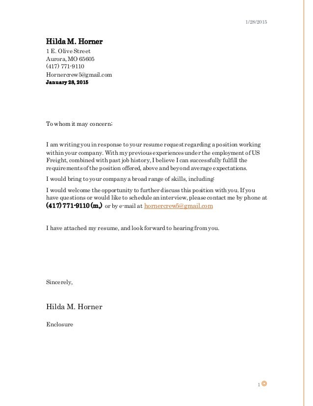 Oriel Resume with added plain cover letter - January 28th 2015 - Hild…