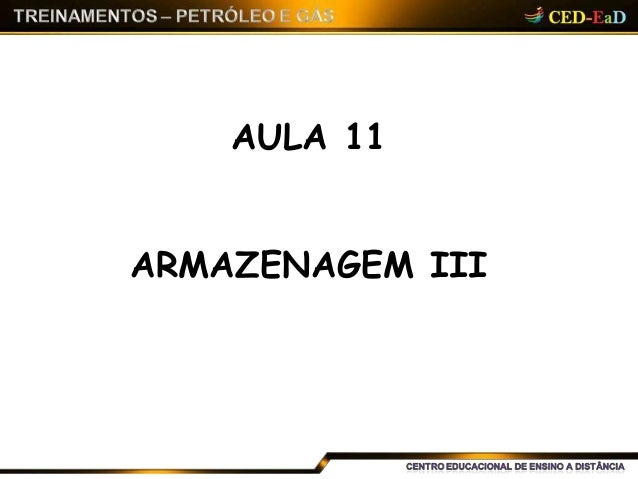 AULA 11 ARMAZENAGEM III