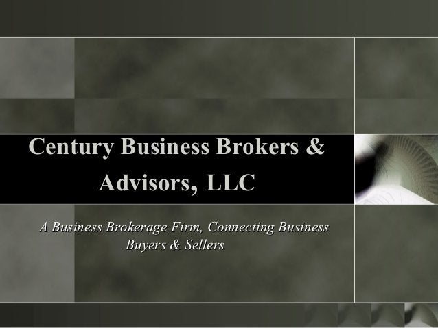 A Business Brokerage Firm, Connecting BusinessA Business Brokerage Firm, Connecting Business Buyers & SellersBuyers & Sell...