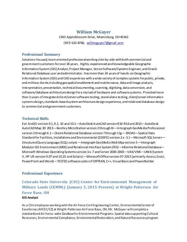 gis analyst resume physic minimalistics co