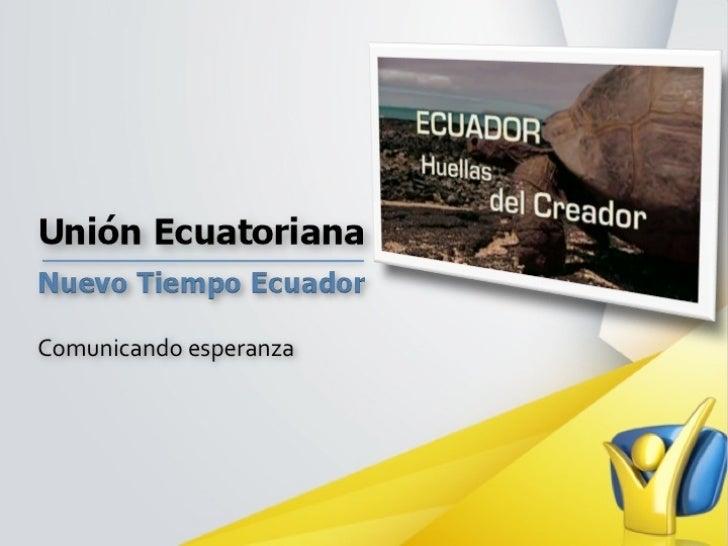 Ações de Comunicação no Equador - Christian Gavilanes