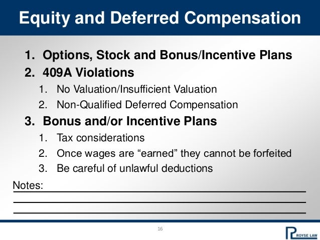 409a incentive stock options