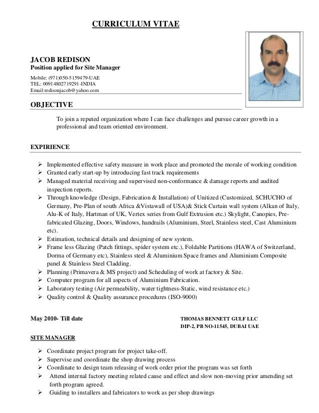 5 indian curriculum vitae sles 28 images sales cv of